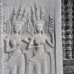Apsara Tänzerinnen, Angkor Wat
