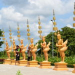 Eingang Bokor-Berg, Provinz Kampot