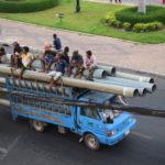 Rohr- und Menschentransport