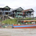 Stelzenhäuser Kampong Phluk