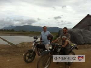 Felderkundung, Kampot-Insel