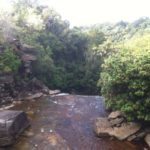 Wasserfall Bokor-Berg