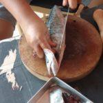 Fisch säubern