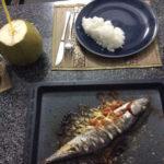 so sieht der Fisch fertig aus dem Ofen - Guten Appetit!